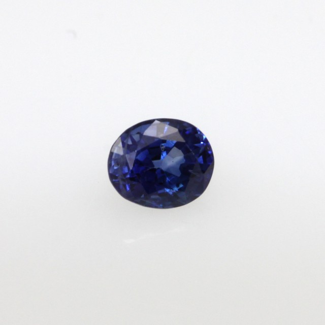 0.48cts Natural Sri Lankan Blue Sapphire Oval Cut