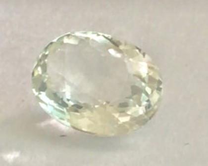 2.15ct  Soft Peach Oval  Morganite VVS, NA25 G242