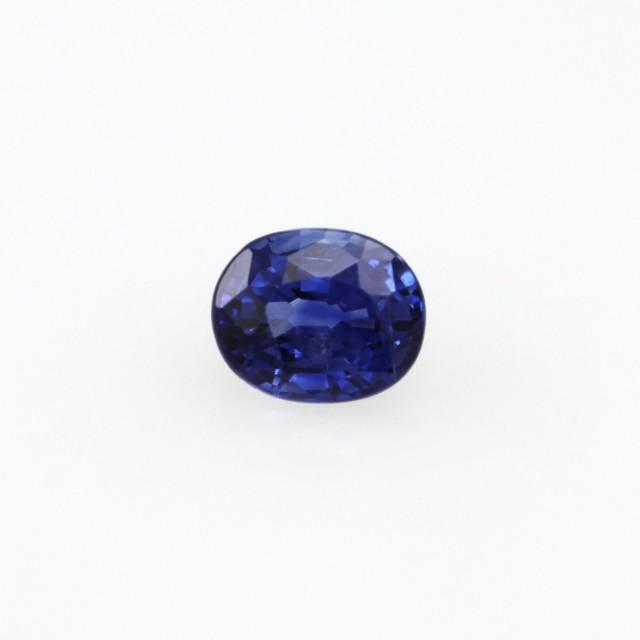 0.47cts Natural Sri Lankan Blue Sapphire Oval Cut