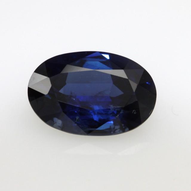 5.08cts Natural Australian Blue Sapphire Oval Cut