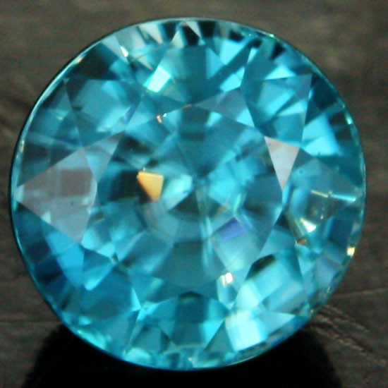 [SG] ZIRCON BLUE GREEN TOP STONE 1.84  CTS [s1972]