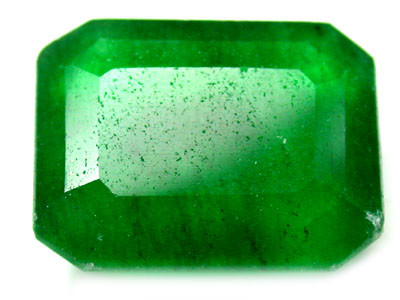 Quartz Emerald Green colour   11.60 carats   QU79
