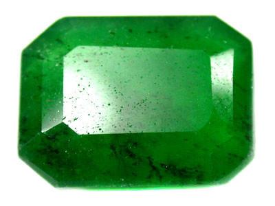 Quartz Emerald Green colour   10.70  carats   QU83