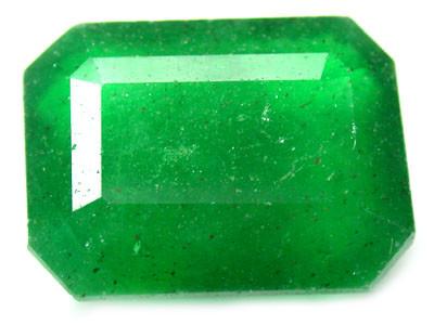 Quartz Emerald Green colour  11.90  carats   QU87
