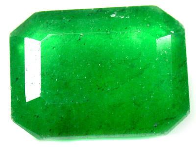 Quartz Emerald Green colour   10.90  carats   QU88