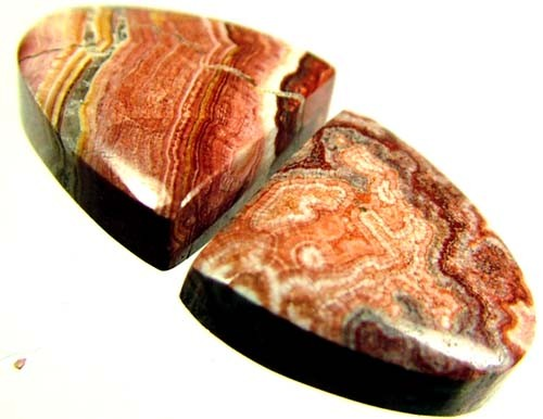 ROCETA STONES PAIR FROM MEXICO  15 CTS [MX276 ]