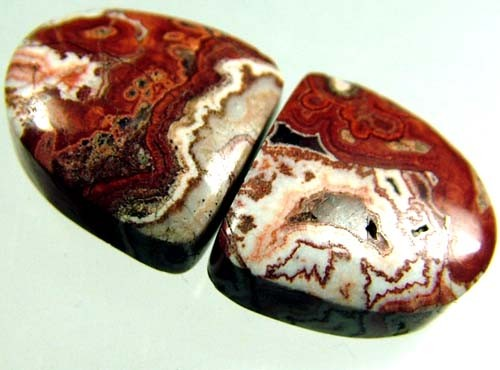 ROCETA STONES PAIR FROM MEXICO  14.5 CTS [MX279 ]