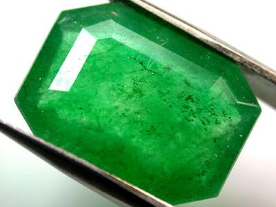 Quartz Emerald Green colour  7.20   carats   QU117