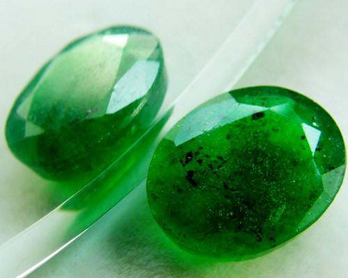 Quartz Emerald Green colour   4.05  carats   QU169