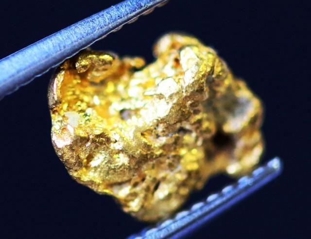 0. 47 Grams  AUSTRALIAN  Gold  Nugget LGN 1309