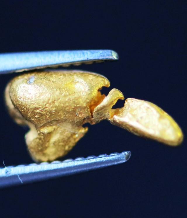 0. 34 Grams  AUSTRALIAN  Gold  Nugget LGN1314