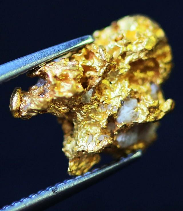 1.37 Grams  AUSTRALIAN  Gold  Nugget LGN 1323