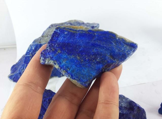 4175 Crt Top Blue Lapis Lazuli Rough Parcel Afghanistan
