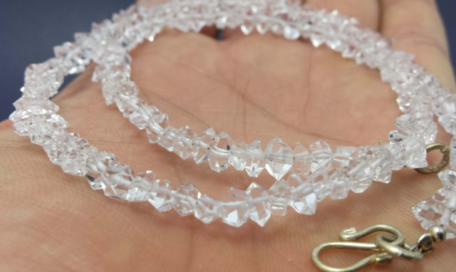 sale of 2 Diamond Quartz Strandings