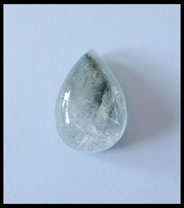 29 Ct Natural Lodolite Quartz Gemstone Cabochon