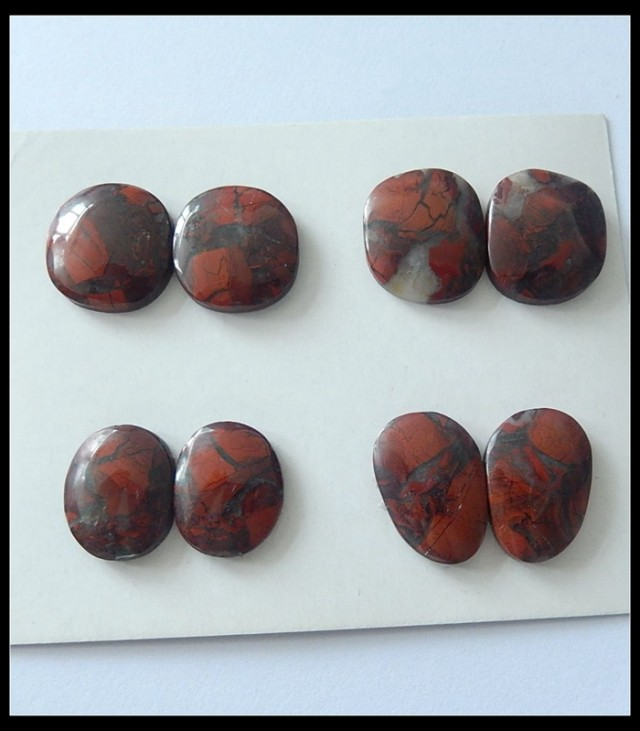 cabochons healing pin gemstone red jasper on cabochon crystals