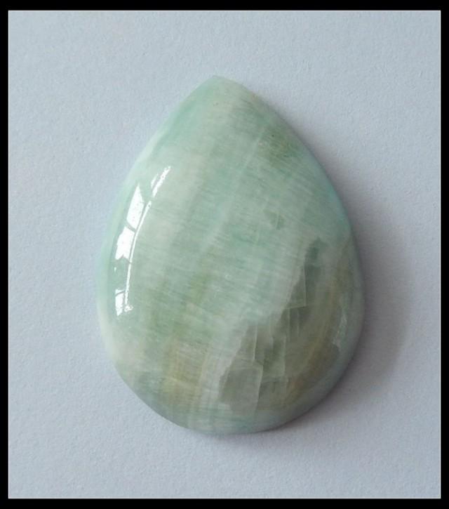 55.4Ct Natural Hemimorphite Gemstone Cabochon