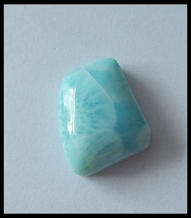 28.5ct Healing Gemstone Natural Larimar Cabochon