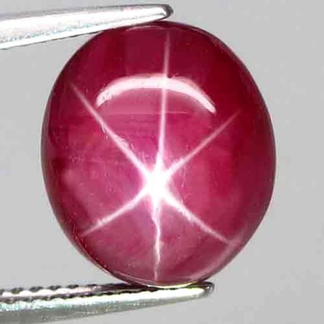 9.42 Carat Pinkish Red Star Ruby - Gorgeous