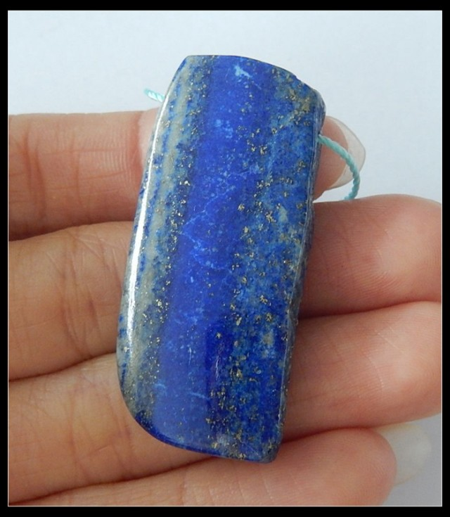 76.5ct Natural Lapis Lazuli Pendant Bead