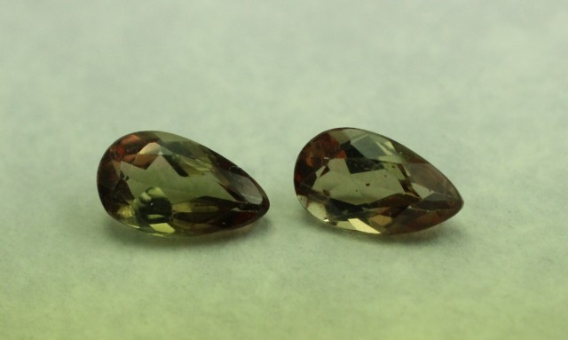 ANDALUSITE GEMSTONE PEAR SHAPED