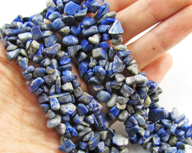 750 Cts Beautiful sodalite necklace MJA 1072