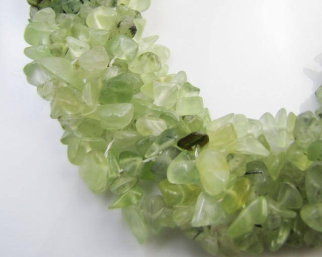 800 Cts Prehnite Necklace MJA 1050