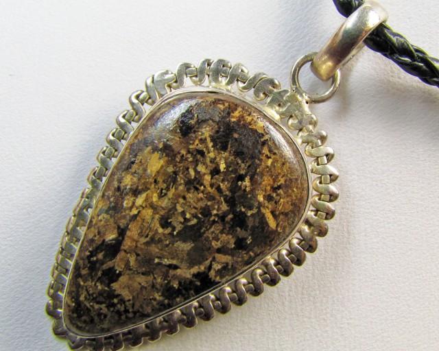 Unique Bronsite Pendant   MJA 304