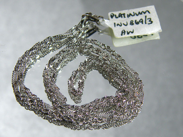 17.2 grams 45 CM LONG PLATINUM CHAIN LGN 831