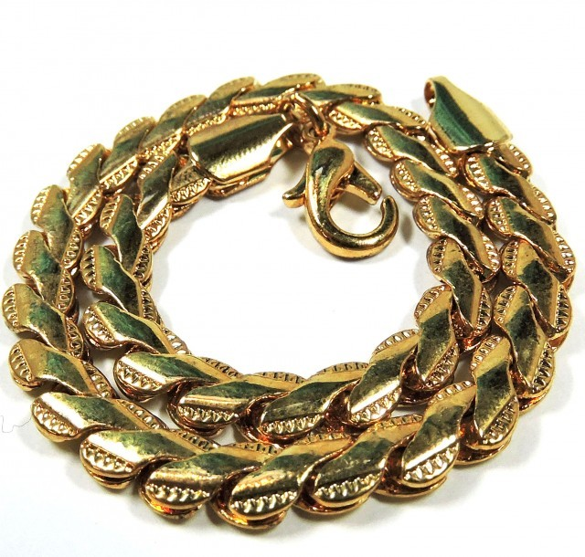 Filled Gold BRACELET  -Gold Plated- CSS 252
