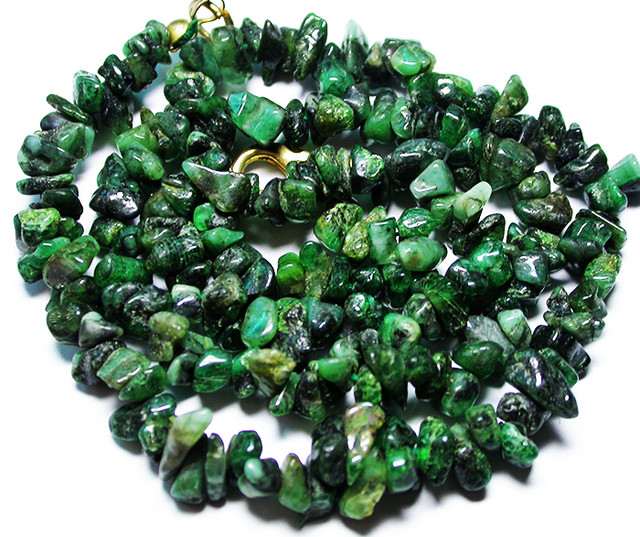110.00 CTS EMERALD NECKLACE  WITH CLIP [SJ2674]