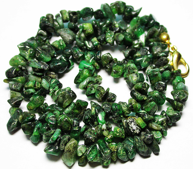 105.00 CTS EMERALD NECKLACE  WITH CLIP [SJ2678]