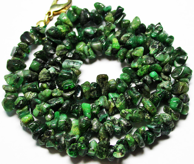 105.00 CTS EMERALD NECKLACE  WITH CLIP [SJ2680]