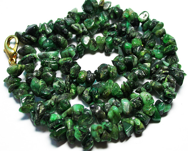 120.00 CTS EMERALD NECKLACE  WITH CLIP [SJ2681]