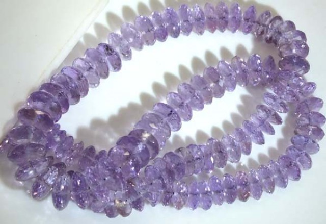 AMETHYST NECKLACE 220 CTS   TBJ-709