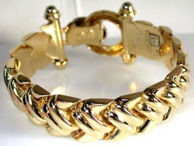524 GRAMS 18K ITALIAN GOLD BRACELET WITH 20CM LONG