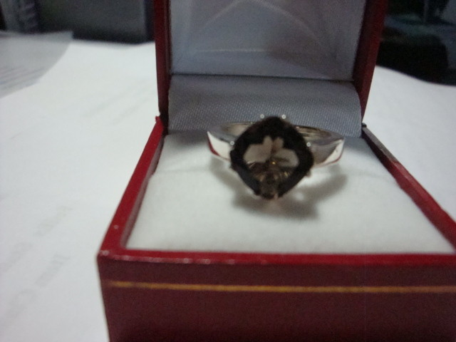 NEW!  3.70CTW OF GENUINE TOPAZ - RING SIZE  7