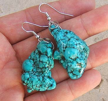Turquoise Earrings - lovely