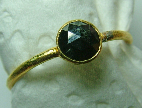 BLACK DIAMOND ROSECUT-RING 8 CTS SG-418
