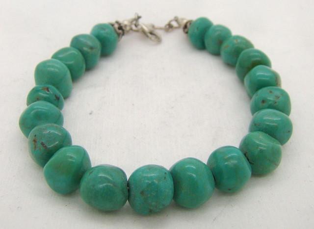 Turquoise Nugget Bracelet  JA-79