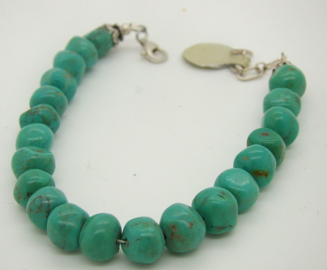 Turquoise Nugget Bracelet JA-81