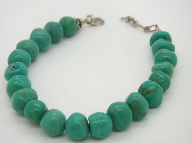 Turquoise Nugget Bracelet JA-82