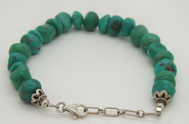 Turquoise Nugget Bracelet JA-94