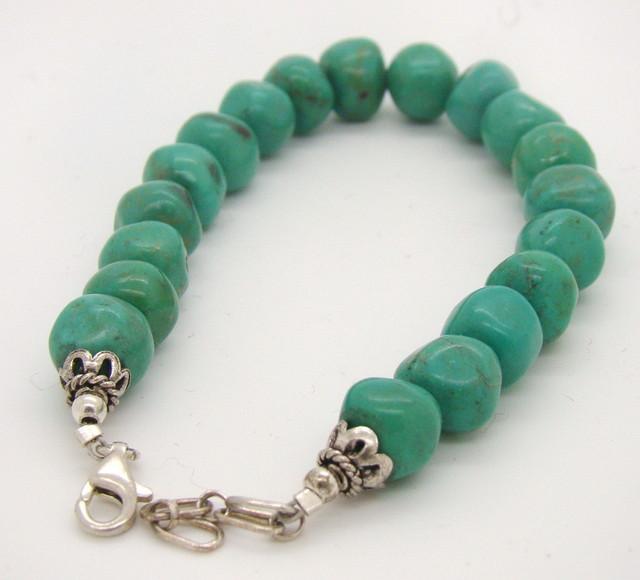 Turquoise Nugget Bracelet JA-114