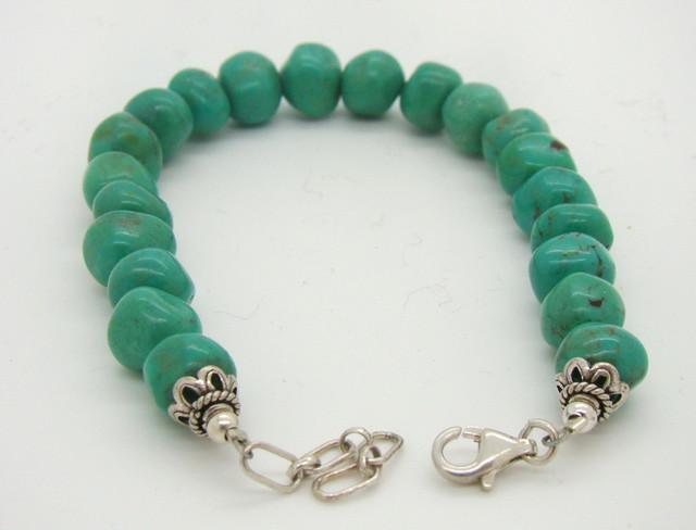 Turquoise Nugget Bracelet JA-115