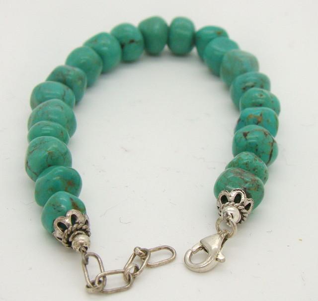 Turquoise Nugget Bracelet JA-112