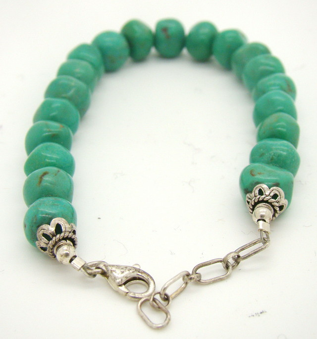 Turquoise Nugget Bracelet JA-15