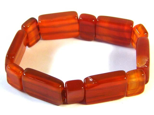 NATURAL BROWN AGATE BRACELETS 146.75 CTS SGS977