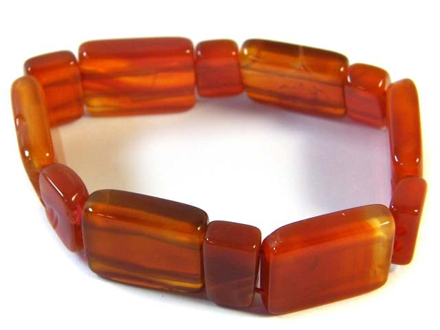 NATURAL  BROWN AGATE BRACELETS 133.5 CTS SGS978