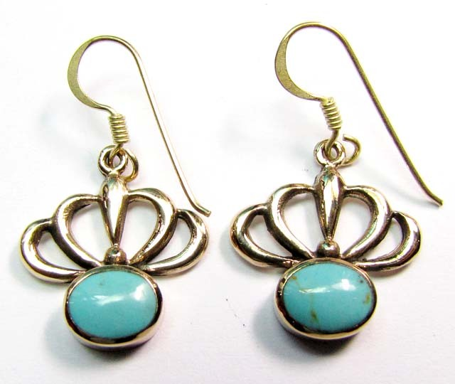 HOWLITE BRONZE EARRINGS RT 279